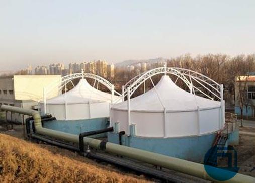 污水处理池膜结构