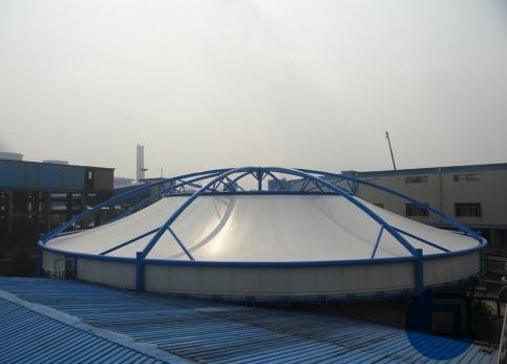 广州某公司污水处理池膜结构