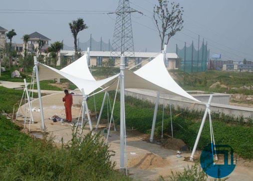 广场设施膜结构