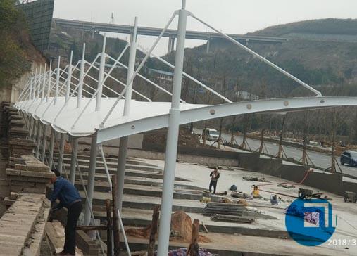 贵州省停车棚膜结构