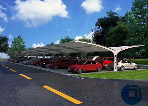 吉林停车棚膜结构
